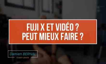 Fuji X et vidéo, peut mieux faire ?