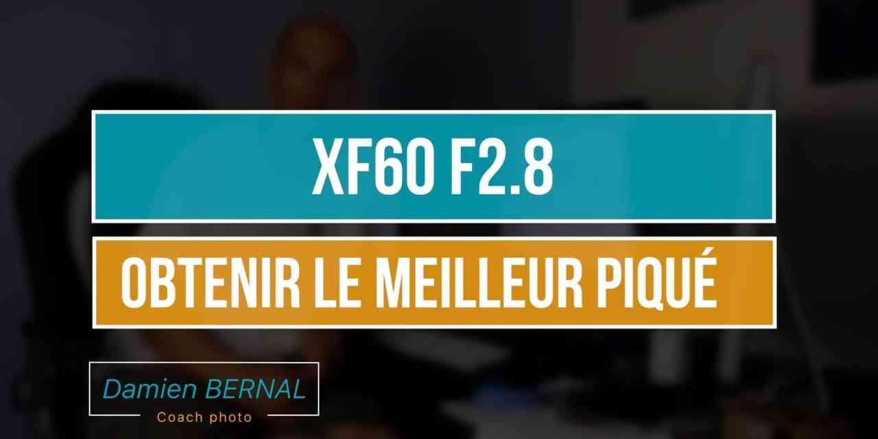 XF60 F2.8 MACRO : Analyse des tests pour définir la meilleure ouverture