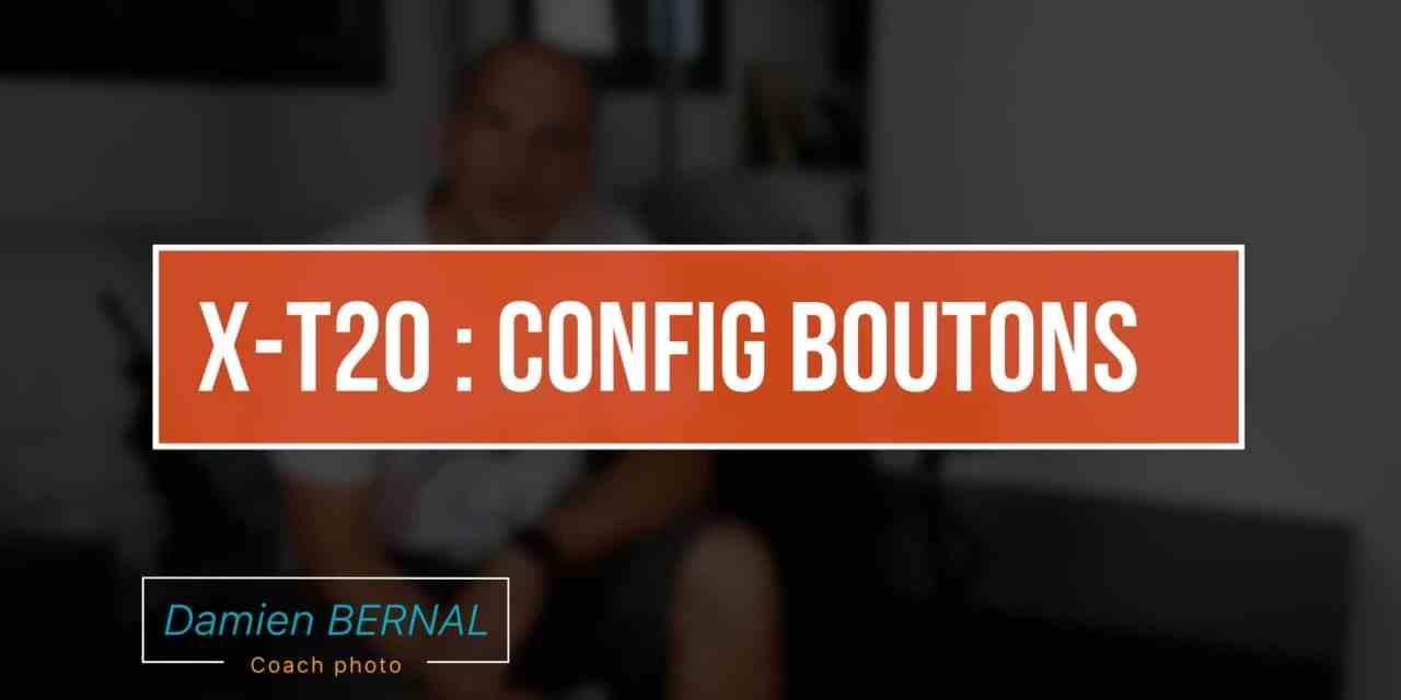 X-T20 : Configuration des boutons et menu Q