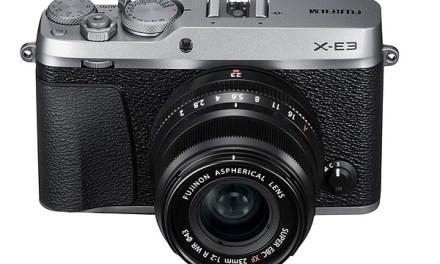 Promo Fujifilm X-E3