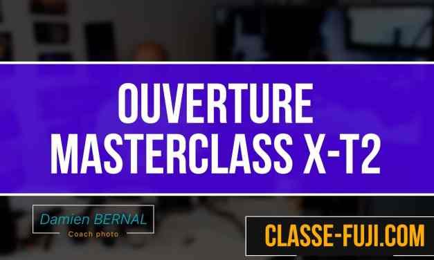 Apprendre à utiliser son Fujifilm X-T2 grace à un cours en ligne !