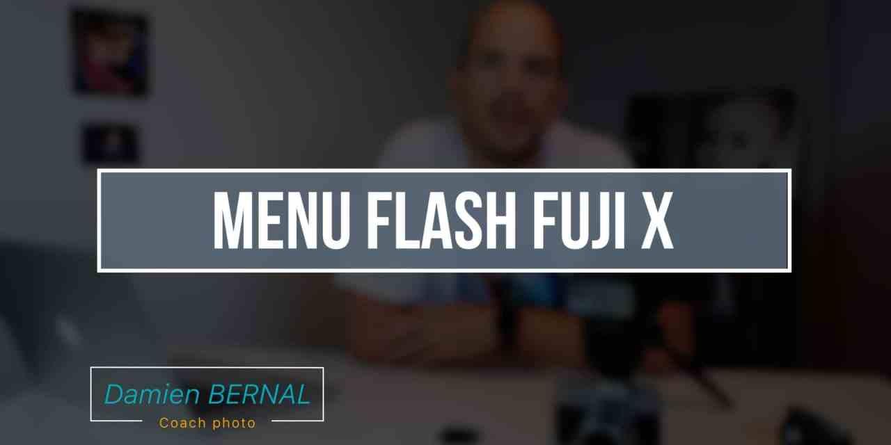 Menu configuration du flash – options