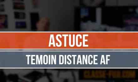 Témoin de distance – Echelle de profondeur fausse pour Fuji ?