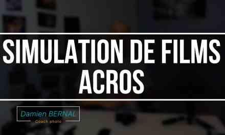 Simulation de film ACROS – Fujifilm Noir & Blanc