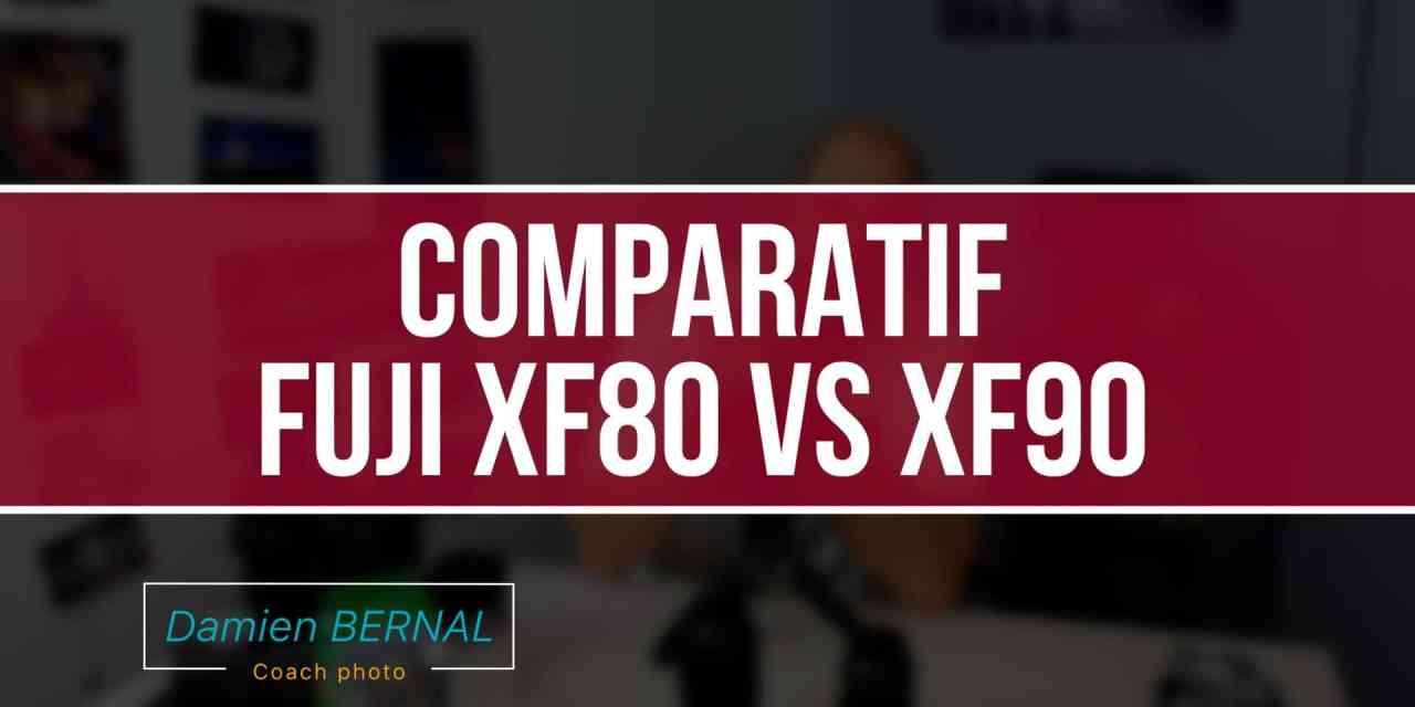 Comparatif Fujifilm XF80 F2.8 vs XF90 F2