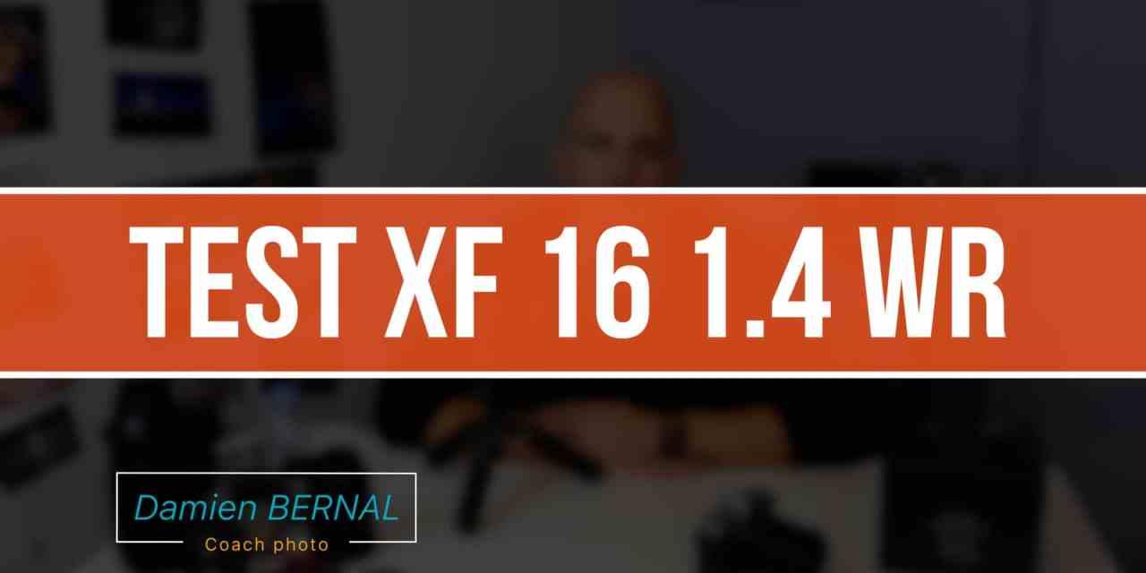 TEST Fuji XF 16 1.4 WR