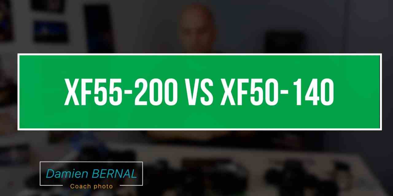 Comparatif XF 55-200 vs XF 50-140 F2.8