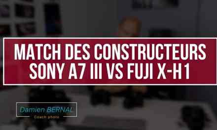 Comparatif hybrides Sony et Fujifilm (Sony A7 III vs Fujifilm X-H1)