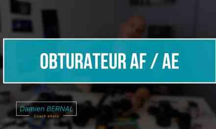OBTURATEUR AE / AF sur Fujifilm X