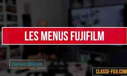 Comprendre les menus Fujifilm X : Bonne ergonomie ?