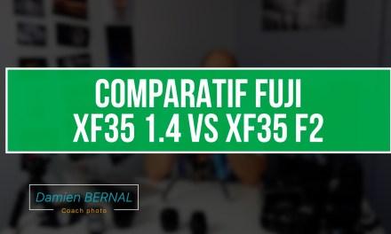 Comparatif Fujinon XF 35 F1.4 vs XF 35 F2 : Lequel choisir ? Qui est le meilleur ?