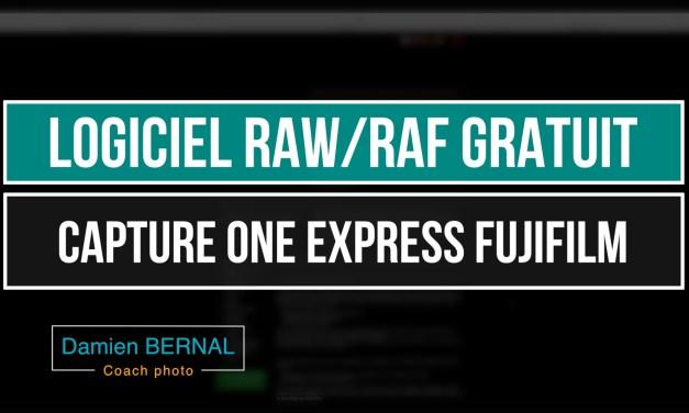 Capture One Express : logiciel gratuit pour raw Fujifilm