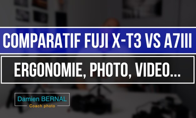 Comparatif Sony A7iii / Fuji X-T3