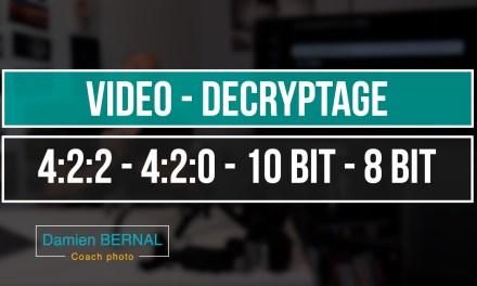 Vidéo – Mais que signifie 4:2:0 / 4:2:2 ? 8 bit vs 10 bit ?
