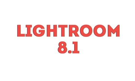 Présentation Lightroom Classic CC 8.1