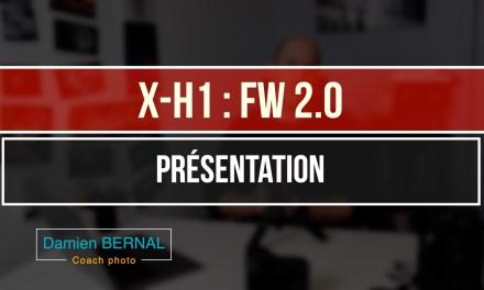 X-H1 : Mise à jour Fw 2.0
