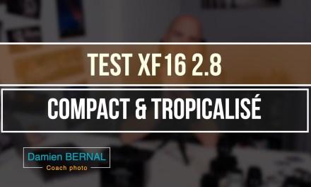 Test Fujifilm XF 16mm f2.8 : Compact & Tropicalisé