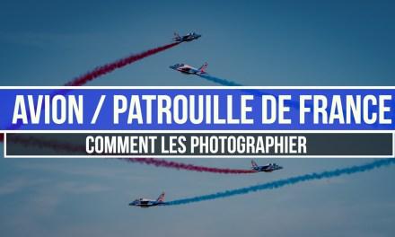 Avions / Patrouille de France : Comment les photographier ?