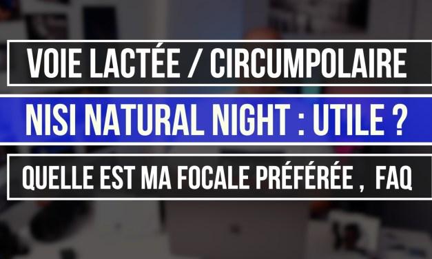 Nisi Natural Night : Vraiment utile ? FAQ Voie lactée