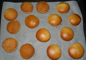 beignets à la sortie du four