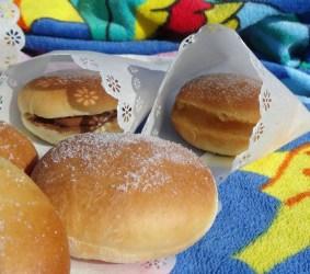 beignets au four pour la plage