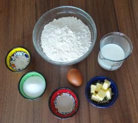 ingrédients des beignets au four