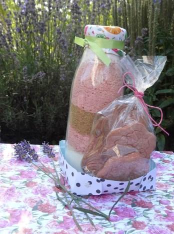 kit futé gourmand pour croquants aux biscuits roses de Reims et croquants
