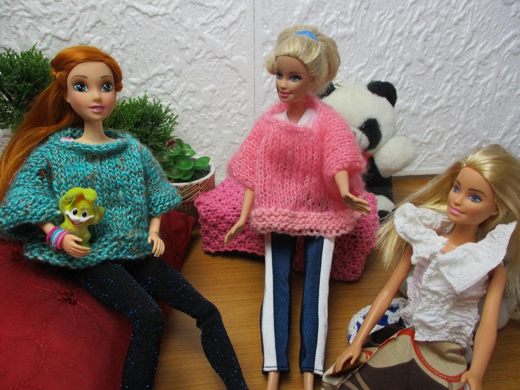 comment faire un poncho au tricot