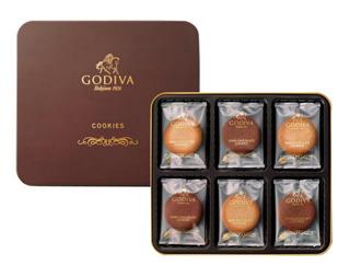 ゴディバ,クッキー アソートメント,18枚入り,