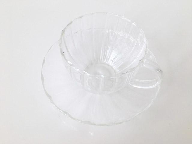 透明のティーカップ,200mlの容量,