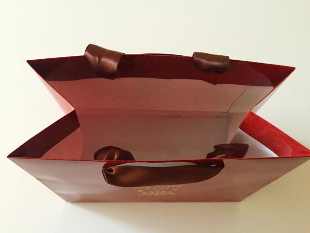 ショコラベルアメール京都別邸,瑞穂のしずく,紙袋中身