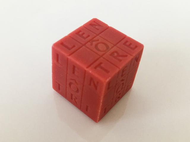 キューブフレイズ,サイコロ型のチョコ,ルノートル,キューブ ルノートル,バレンタイン,チョコレート, LENÔTRE,Cubes Lenôtre,CUBE LENÔTRE,Cube Fraise,Valentine,