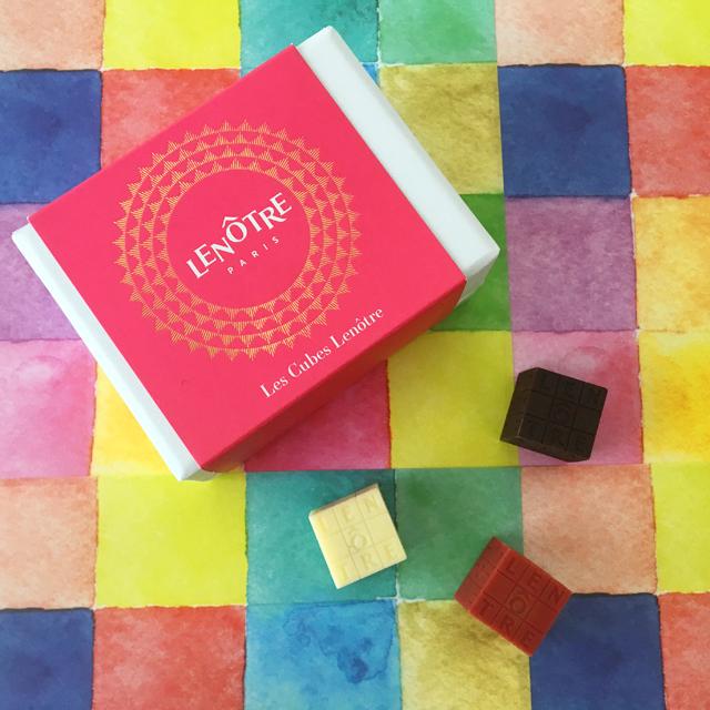 ルノートル,キューブ ルノートル,3個入,¥1,512(税込),バレンタイン,チョコレート, LENÔTRE,Cubes Lenôtre,CUBE LENÔTRE,Valentine,