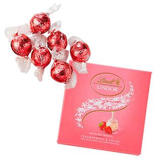 リンツ・チョコレート,リンドール,ストロベリー