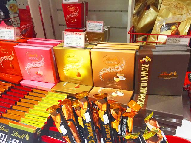 ソニプラ,チョコレート,リンツ