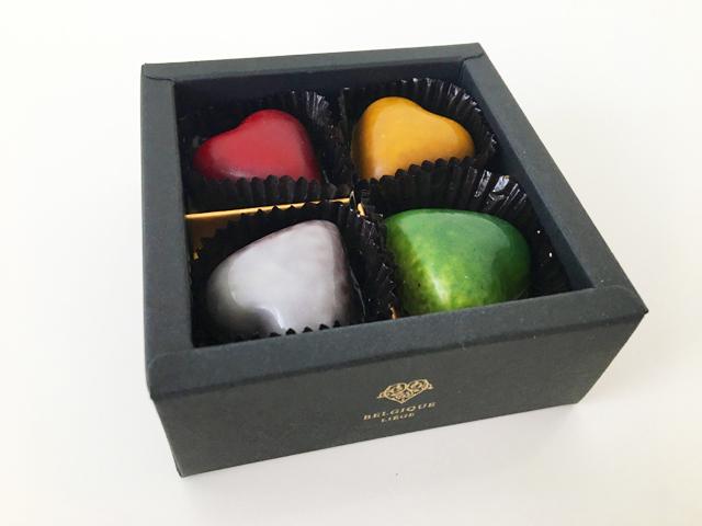 ピエールルドンのハート型のチョコレート,ボンボンショコラ,プチシャトー,8個入, Pierre Ledent,Petit Château,Heart-shaped chocolate,Valentine,