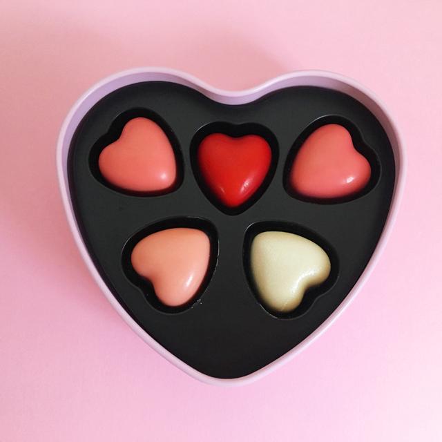 ピエールマルコリーニ,5種類のハート型のチョコレートが入ったグラデーションクール,PIERRE MARCOLINI,2020,バレンタイン,ホワイトデー,