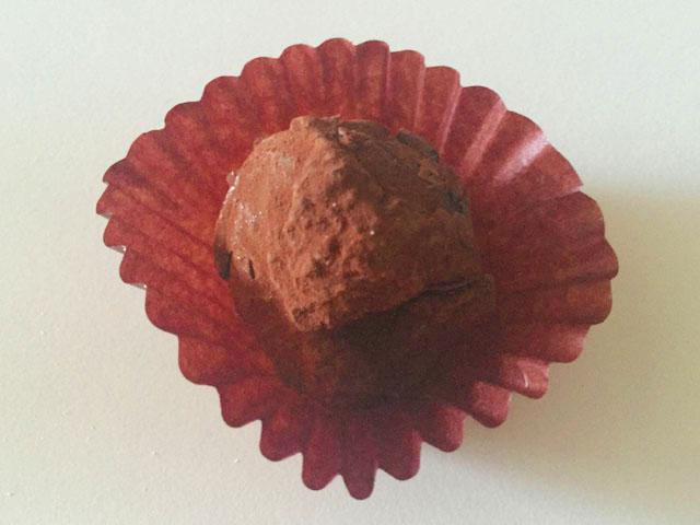 イヴァン・ヴァレンティン,バレンタイン,2個入り,ダーク チョコレート トリュフ