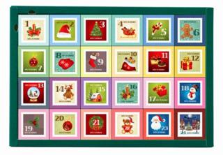 カフェオウザン,CAFE OHZAN,クリスマス カレンダー キューブラスク,24個入,税込5940円,クリスマス,2020,
