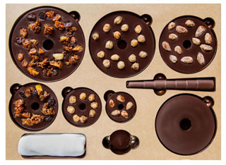 アランデュカス,アーブルドノエル,組み立てタイプのチョコレートのクリスマスツリー,1個入,税込16,200円,ル・ショコラ・アランデュカス,クリスマス,2020,LE CHOCOLAT Alain Ducasse,ARBRE DE NOËL,