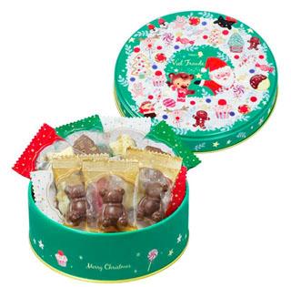 メリーチョコレート,フィールフロイデ,緑色の缶,チョコレート52g,税込540円,Mary Chocolate,Mary's,