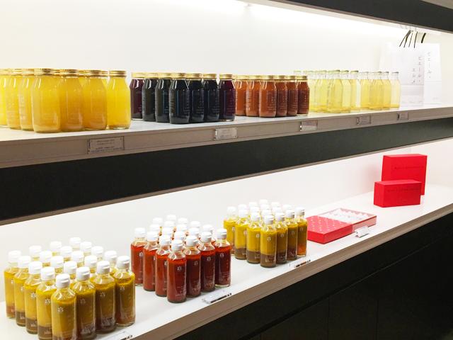 ザ・リッツ・カールトン京都,ピエール・エルメ・パリ ブティック,ジュースが販売されている,THE RITZ-CARLTON KYOTO,PIERRE HERMÉ PARIS,