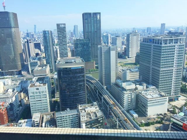 大阪の街の景色