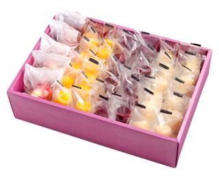 苺アイスと3種のひとくちジェラートセット