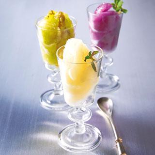 シェ松尾,凍らせて食べるフルーツソルベ