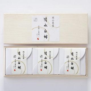 清風庵,清水白桃ゼリー,3個入,税込3,024円,