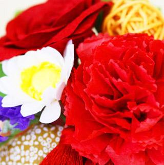 パティスリー サンファソン,patisserie SANSFACON,和紙の花(L)と母の日のメッセージバウム,母の日,2020,