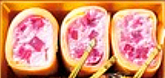 リストランテ アクアパッツァ,おせち,2021,二の重,平 高行,リコッタチーズとビーツのクレープ巻き,大丸松坂屋,日髙良実,イタリアンのおせち,ACQUA PAZZA,