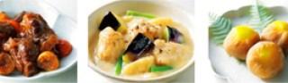 大原千鶴,おせち,栗きんとんと牛すね肉とドライフルーツの煮込みと白味噌シチュー,