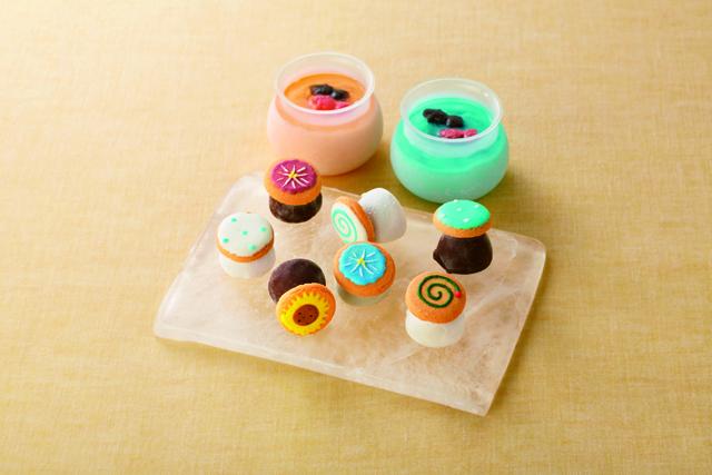 アンファンのアイシングクッキーアイス2021年夏バージョン,Enfant,お中元,2021,アイスクリーム,summer gift,jelly,ice cream,baked sweets,